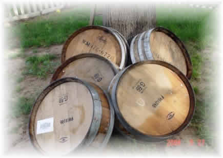 Quarter Wine Barrel- www.usedwinebarrels.com